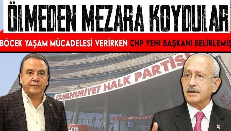 Antalya Büyükşehir Belediye Başkanı Muhittin Böcek koronavirüsle mücadele ederken CHP çoktan mezara koymuş! Yeni başkan için planlar yapmışlar