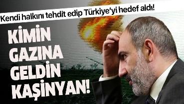 Ermenistan Başbakanı Paşinyan'dan Türkiye'ye alçak iftira!