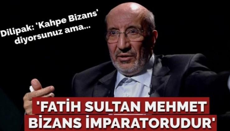 Fatih Sultan Mehmet'e saldırdı!