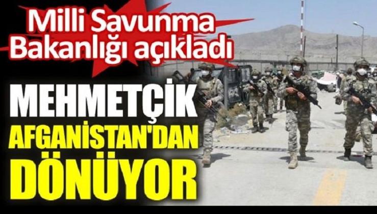 Türk askeri Afganistan'dan dönüyor