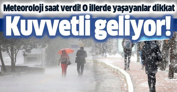 HAVA DURUMU | Meteorolojiden kuvvetli sağanak ve kar uyarısı | 16 Aralık İstanbul'da hava nasıl olacak?