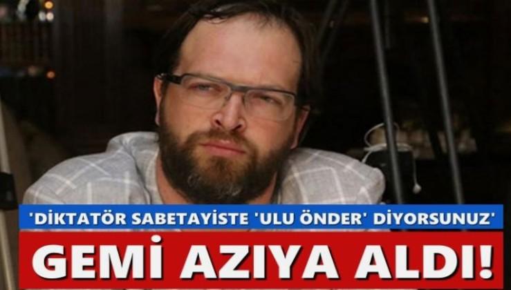 FETÖ övgüleri belleklerden silinmeyen Fatih Tezcan, gemi azıya aldı: Sabetayiste 'Ulu Önder' diyorsunuz