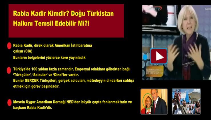 Rabia Kadir Kimdir? Doğu Türkistan Halkını Temsil Edebilir Mi?! / Banu AVAR