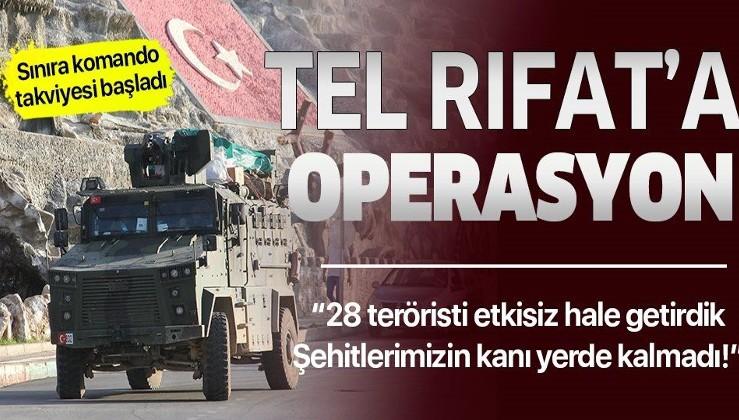 Şehitlerimizin kanı yerde kalmadı! 28 terörist öldürüldü