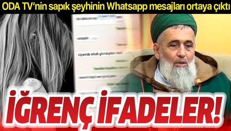 SON DAKİKA: Oda TV'nin sapık şeyhi Fatih Nurullah iğrenç WhatsApp mesajları ifşa oldu: Yazışmaların hepsini boşalt e mi