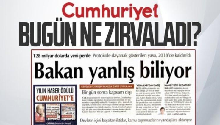 """Bakanlıktan Cumhuriyet Gazetesi'nin """"Hazine ve TCMB arasındaki protokolün yasal dayanağı ortadan kalktı"""" iddiasına yalanlama"""