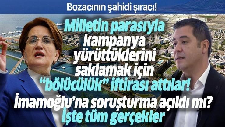 SON DAKİKA: İçişleri Bakanlığı Meral Akşener'in Ekrem İmamoğlu ve Kanal İstanbul iddiasını yalanladı: Bölücülükten değil kamu kaynağı nedeniyle ön inceleme yapıldı