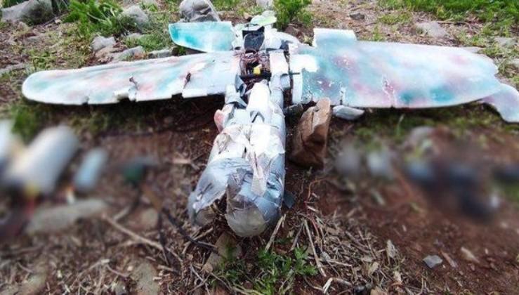 SON DAKİKA: Kuzey Irak Metina'da PKK'nın saldırı amacıyla kullandığı maket uçak düşürüldü
