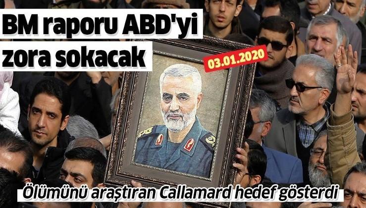 BM Raportörü Agnes Callamard: Kasım Süleymani'nin öldürülmesi hukuksuz