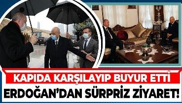 Bidenciler hareketlenince sürpriz görüşme:: Erdoğan MHP Genel Başkanı Devlet Bahçeli'yi evinde ziyaret etti