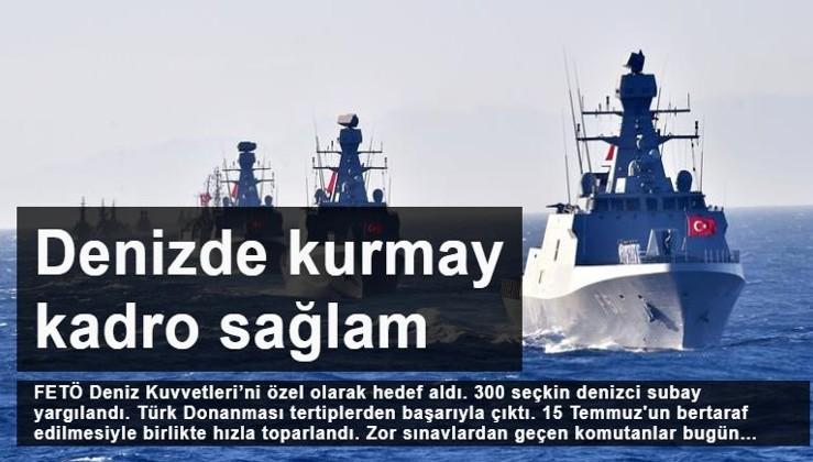 Donanmanın kurmay kadrosu hazır