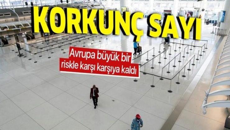 Korkunç sayı: Avrupa'da 200'e yakın havaalanı iflas etmek üzere, 277 bin kişi işsiz kalabilir