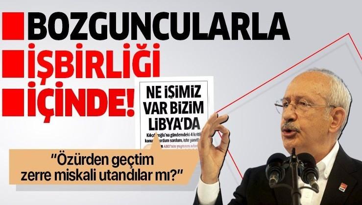 """""""Mavi Vatan'ımızı ölümüne savunduğumuz bir dönemde CHP bozguncularla işbirliği içinde! """""""
