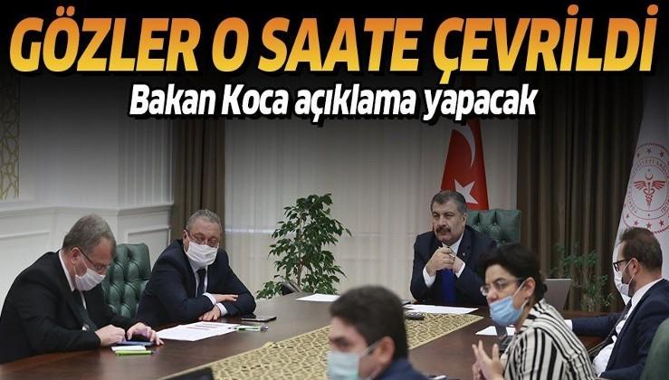 Son dakika: Korona Virüs Bilim Kurulu toplanıyor! Gözler Sağlık Bakanı Fahrettin Koca'nın açıklamasında
