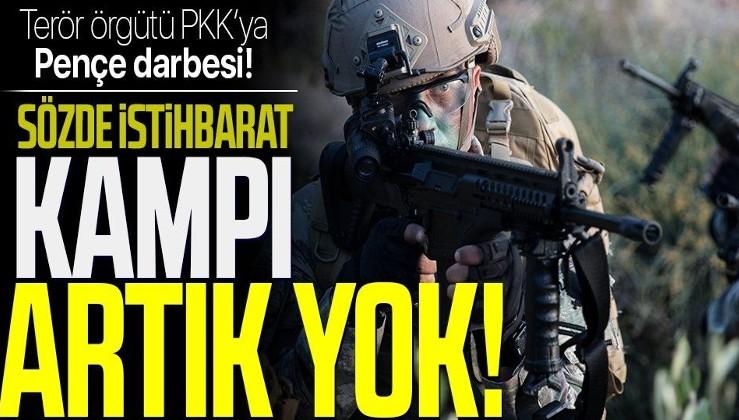 SON DAKİKA: Terör örgütü PKK'ya 'Pençe' darbesi: İstihbarat kampları yerle bir edildi