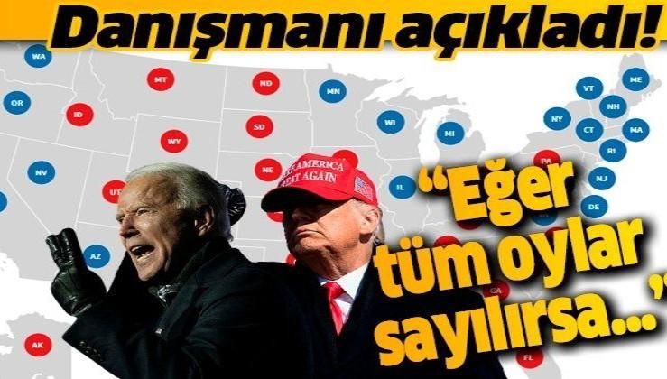 Donald Trump'ın Kampanya Danışmanı Bill Stepien: Yasal yollarla kullanılmış tüm oylar sayılırsa Trump seçimleri kazanır