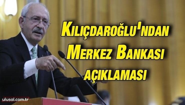 Kemal Kılıçdaroğlu'ndan Merkez Bankası açıklaması: ''TL kar gibi eriyor sorumlu Merkez Bankası''