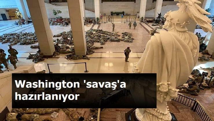 Washington 'savaş'a hazırlanıyor