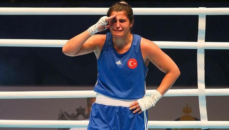 Dünya Kadınlar Boks Şampiyonası'ında Busenaz Sürmeneli'den altın madalya
