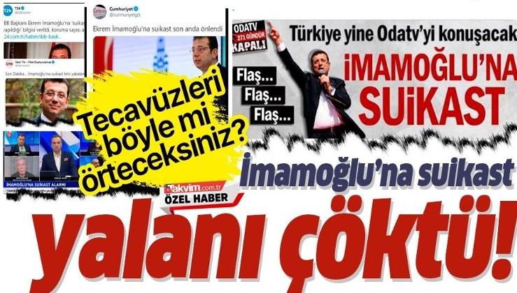 Emniyet Genel Müdürlüğü 'Ekrem İmamoğlu'na suikast girişimi' iddialarıyla ilgili açıklama yaptı