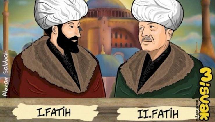 Erdoğan'ı '2. Fatih' yaptılar!