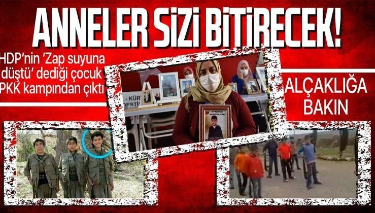 HDP'lilerin 'Zap suyuna düştü' dediği 9 yaşındaki Hamza Adıyaman'ın PKK tarafından kaçırıldığı ortaya çıktı!