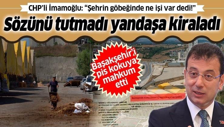İmamoğlu Kayaşehir Kurbanlık Satış ve Kesim Alanı için verdiği sözü tutmadı: İki yıl yandaş derneklere kiraladı