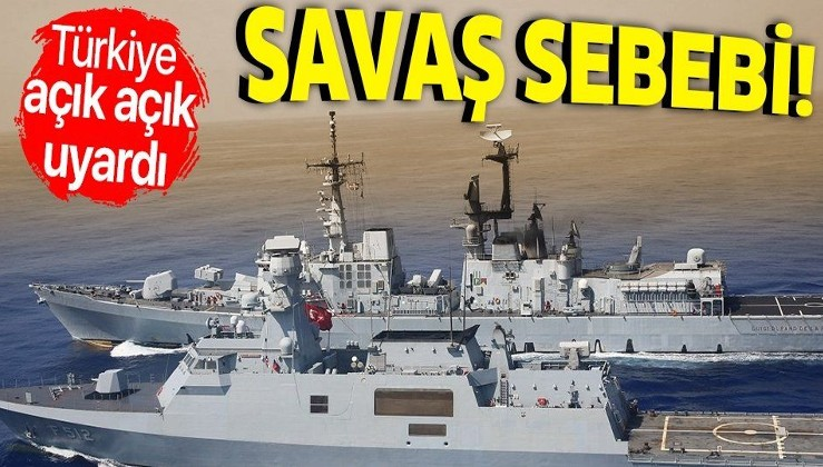 Son dakika: Türkiye'den Avrupa'ya çok net Doğu Akdeniz mesajı: Geri adım atmamızı kimse beklemesin