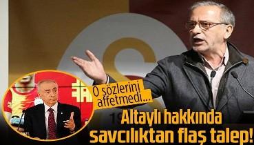Galatasaray Başkanı Mustafa Cengiz'den Fatih Altaylı hakkında savcılığa şikayet! O sözlerini affetmedi