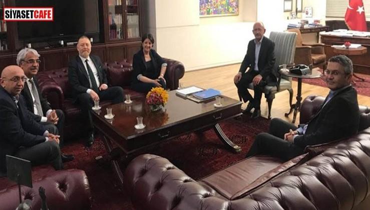 HDP Eş Genel Başkanları Kılıçdaroğlu'nu ziyaret etti