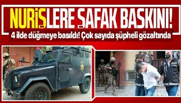 """SON DAKİKA: İstanbul merkezli 4 ilde """"Karagümrük çetesi"""" olarak bilinen suç örgütüne operasyon"""