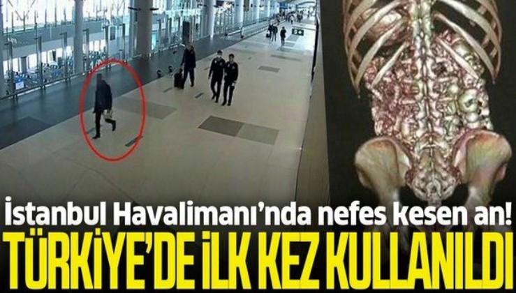 Türkiye'de ilk kez kullanıldı! İstanbul Havalimanı'nda nefes kesen an
