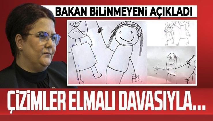 Aile ve Sosyal Hizmetler Bakanı Derya Yanık: Çizimler Elmalı davasıyla ilgili dosyaya ait değil