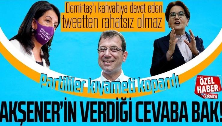 Ekrem İmamoğlu'nun 8 Mart Kadınlar Günü mesajı İYİ Partilileri kızdırdı! Meral Akşener'den dikkat çeken açıklama