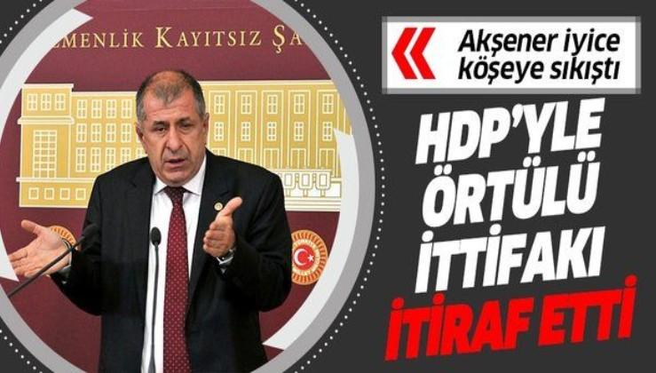 İYİ Parti İstanbul Milletvekili Ümit Özdağ, 31 Mart seçimleri öncesi partisinin HDP'yle yaptığı örtülü ittifakı anlattı