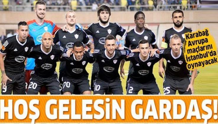 Karabağ, UEFA Avrupa Ligi'ndeki ilk iç saha maçını Fatih Terim Stadyumu'nda oynayacak