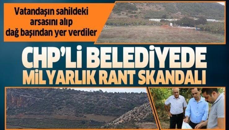 Antalya'daki CHP'li belediyede milyarlık rant skandalı.