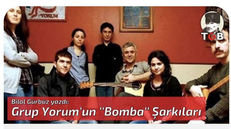 Grup Yorum'un ''Bomba'' Şarkıları