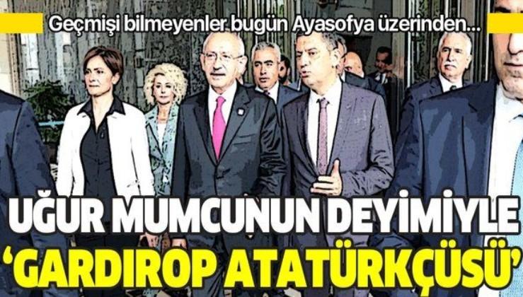 Sabah gazetesi yazarı Mahmut Övür: Uğur Mumcu'nun deyimiyle gardırop Atatürkçüsü!