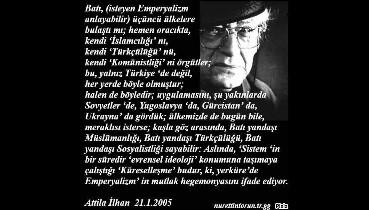 Atilla İlhan'dan tarihi uyarı!