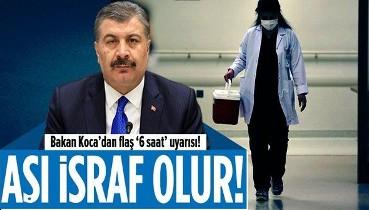 Son dakika: Sağlık Bakanı Fahrettin Koca'dan aşı randevusunu aksatanlara flaş uyarı