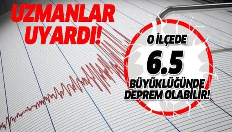 Yaşanan depremden sonra uzman isimden son dakika açıklması geldi! 'O ilçede 6.5 büyüklüğünde deprem olabilir!'