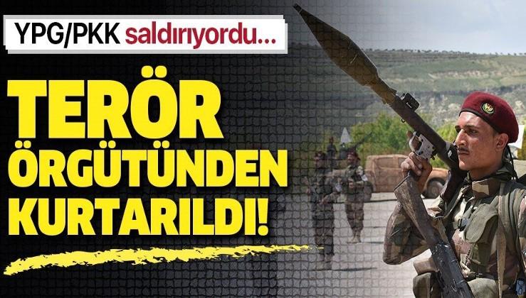 YPG/PKK'dan kurtarıldı.
