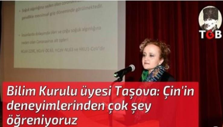 Bilim Kurulu üyesi Taşova: Çin'in deneyimlerinden çok şey öğreniyoruz