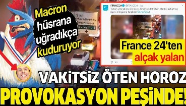 """France 24'ten alçak yalan: """"Türkler Ermeni mahallelerini bastı"""""""