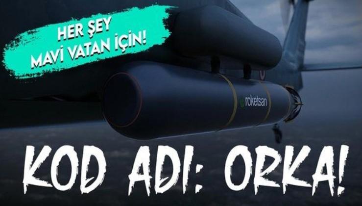 ROKETSAN'dan flaş hamle! Mavi Vatan için yerli ve milli hafif torpido ORKA!