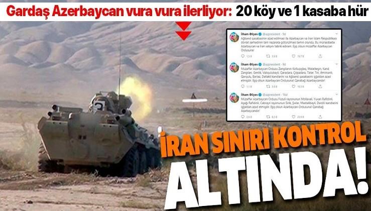 Son dakika: Azerbaycan ordusu 20 köy ve 1 kasabayı daha Ermenistan işgalinden kurtardı