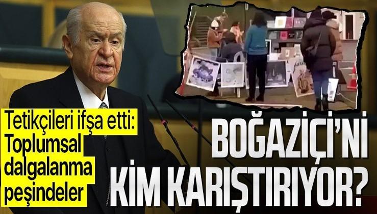 Son dakika: MHP lideri Devlet Bahçeli'den flaş Boğaziçi açıklaması: Mesele öğrenci ya da rektör meselesi değil