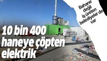 Ağrı Belediyesi çöpten her yıl 10 bin 400 hane için elektrik üretecek