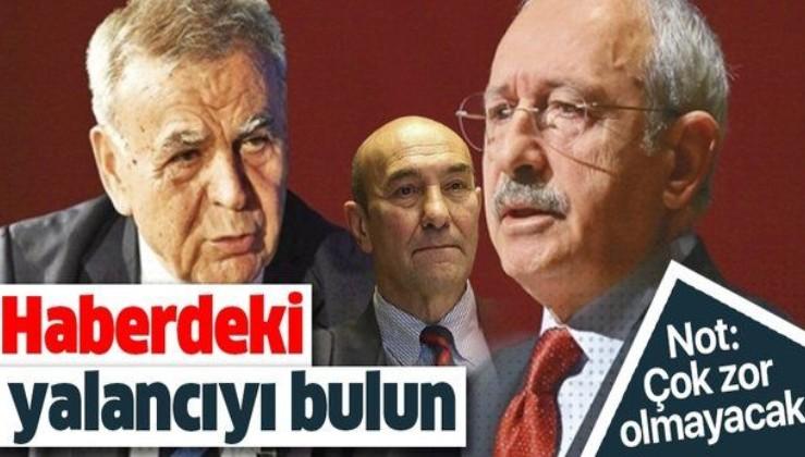 CHP'nin eski İzmir Büyükşehir Belediye Başkanı Aziz Kocaoğlu'nun açıklamaları Kılıçdaroğlu ve Soyer'in yalanını ortaya çıkardı!